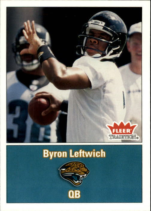 2003 Fleer Tradition #273 Byron Leftwich RC