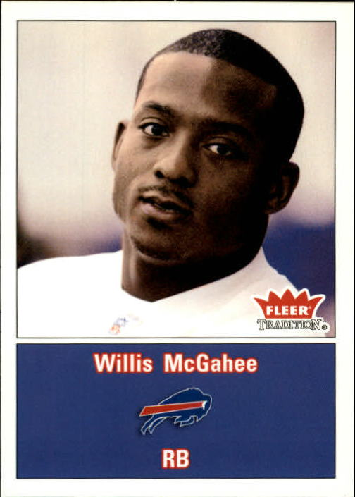 2003 Fleer Tradition #274 Willis McGahee RC