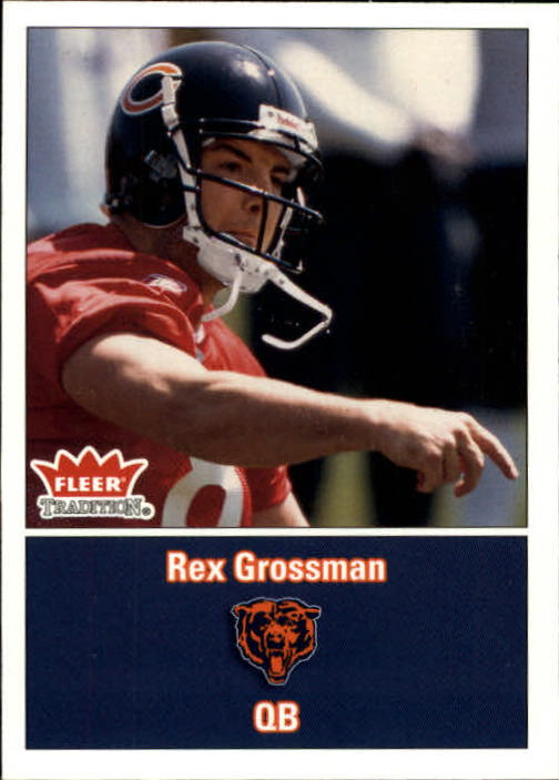 2003 Fleer Tradition #279 Rex Grossman RC
