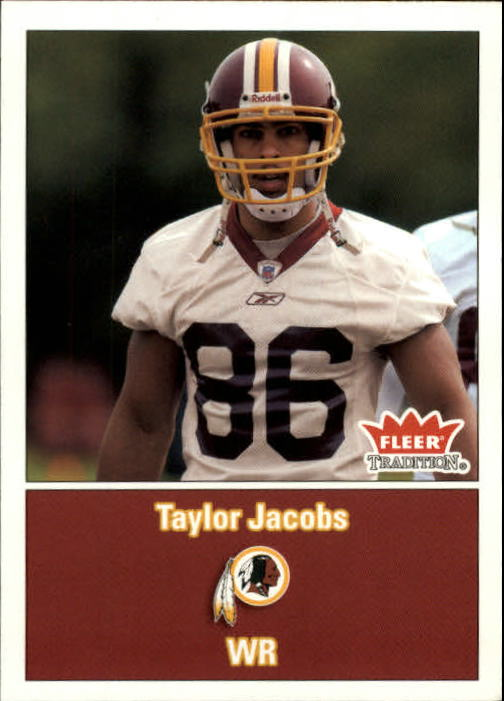 2003 Fleer Tradition #280 Taylor Jacobs RC
