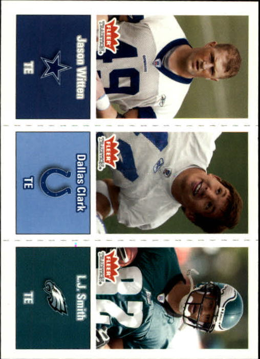 2003 Fleer Tradition #283 Jason Witten RC/Dallas Clark RC/L.J.Smith RC