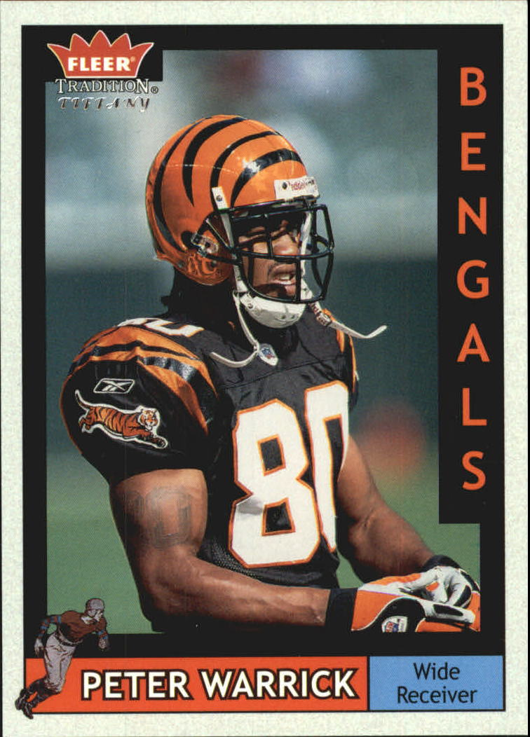 2003 Fleer Tradition Tiffany #184 Peter Warrick