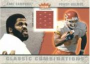 2003 Fleer Tradition Classic Combinations Memorabilia #18 Priest Holmes JSY/Earl Campbell