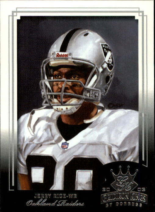2003 Gridiron Kings #69 Jerry Rice