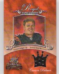 2003 Gridiron Kings Royal Expectations Materials Gold #RE3 Carson Palmer