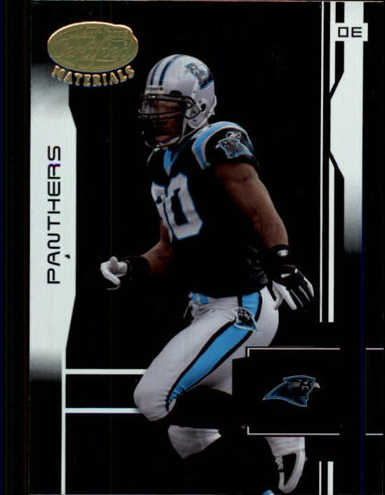 2003 Leaf Certified Materials #18 Julius Peppers