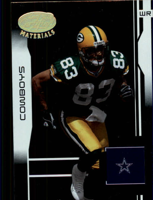 2003 Leaf Certified Materials #49 Terry Glenn