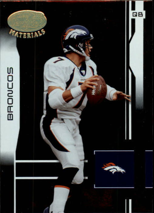 2003 Leaf Certified Materials #140 John Elway