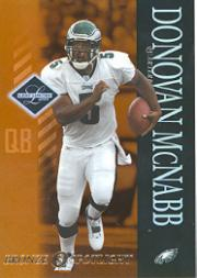 2003 Leaf Limited Bronze Spotlight #74 Donovan McNabb