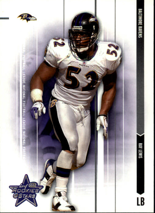 2003 Leaf Rookies and Stars #7 Ray Lewis