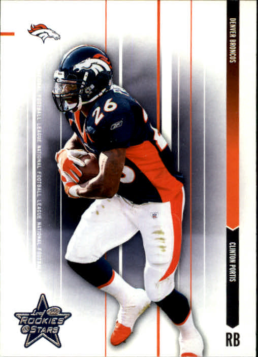 2003 Leaf Rookies and Stars #24 Clinton Portis
