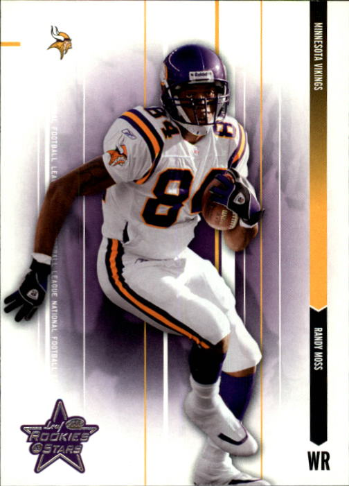 2003 Leaf Rookies and Stars #50 Randy Moss
