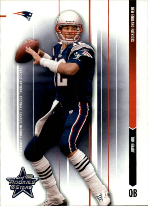 2003 Leaf Rookies and Stars #51 Tom Brady