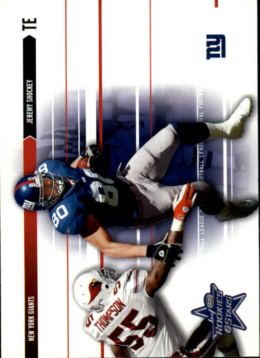 2003 Leaf Rookies and Stars #57 Jeremy Shockey