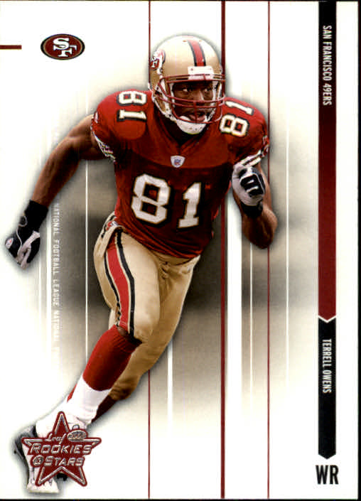 2003 Leaf Rookies and Stars #79 Terrell Owens