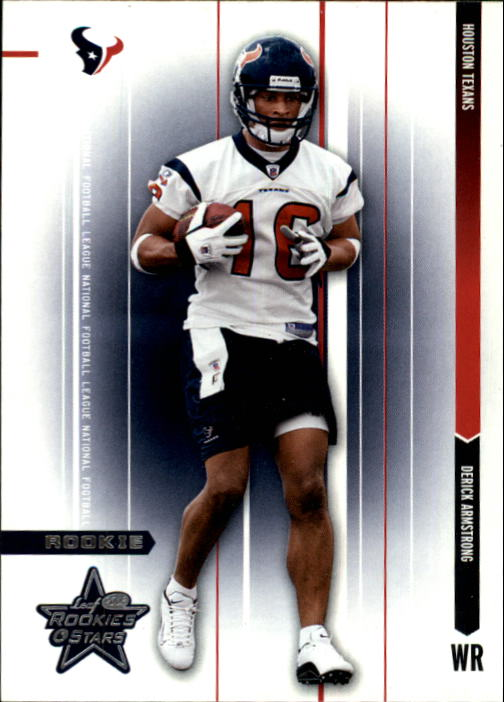 2003 Leaf Rookies and Stars #147 Derick Armstrong RC