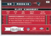 2003 Leaf Rookies and Stars #257 Kliff Kingsbury JSY RC