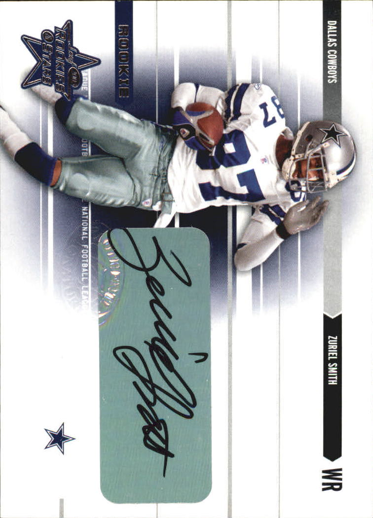 2003 Leaf Rookies and Stars Rookie Autographs #234 Zuriel Smith