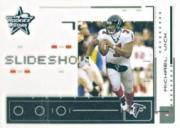 2003 Leaf Rookies and Stars Slideshow #SS3 Michael Vick