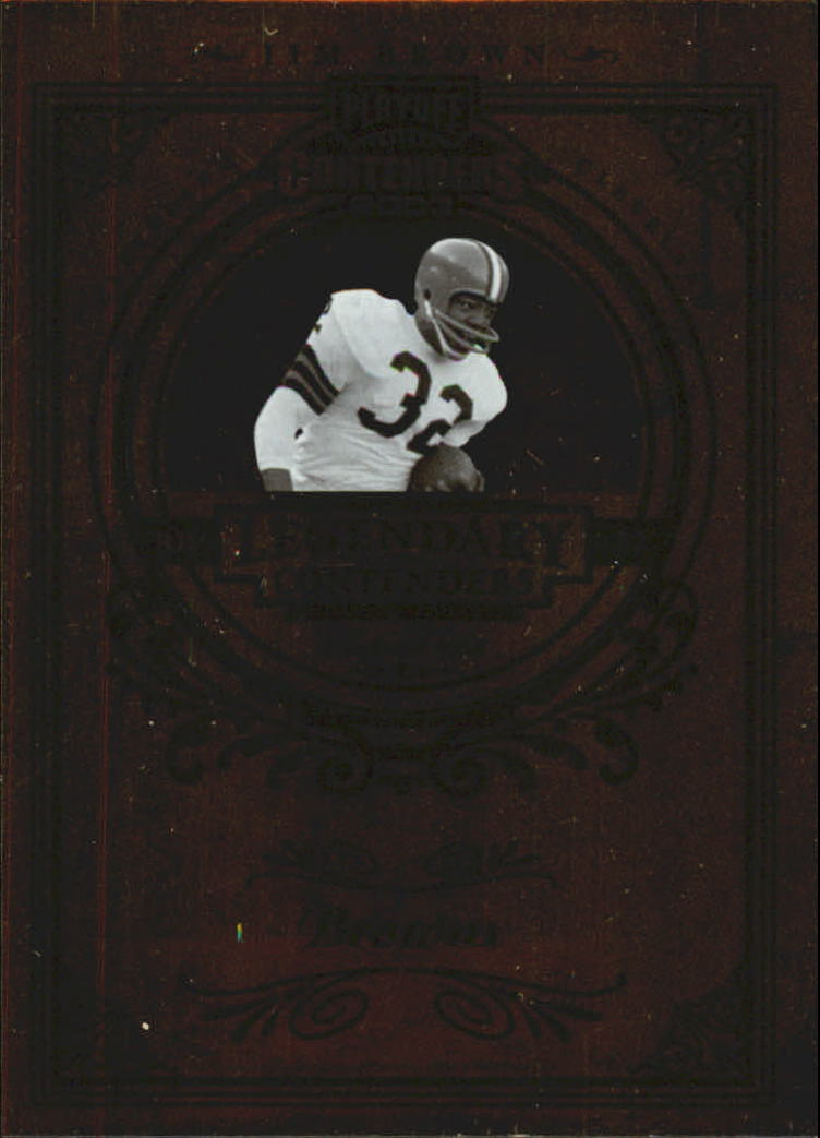 2003 Playoff Contenders Legendary Contenders #LC3 Jim Brown