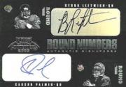 2003 Playoff Contenders Round Numbers Autographs #RN11 Carson Palmer/Byron Leftwich/Charles Rogers/Andre Johnson