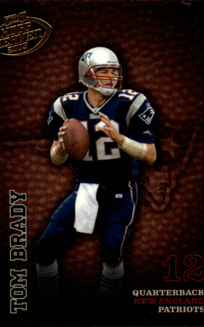 2003 Playoff Hogg Heaven #86 Tom Brady
