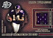 2003 Playoff Hogg Heaven #230 Nate Burleson JSY RC