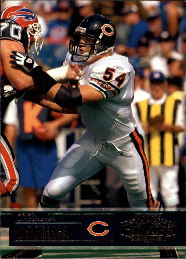 2003 Playoff Honors #10 Brian Urlacher