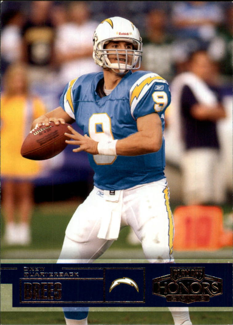 2003 Playoff Honors #27 Drew Brees