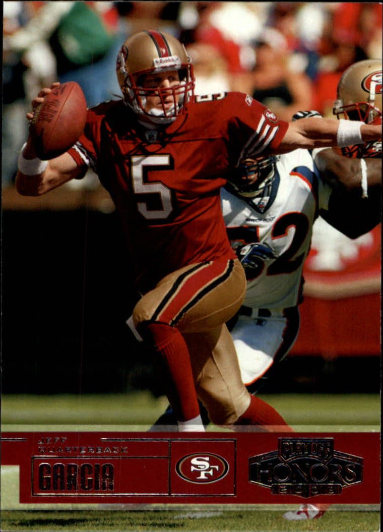 2003 Playoff Honors #42 Jeff Garcia