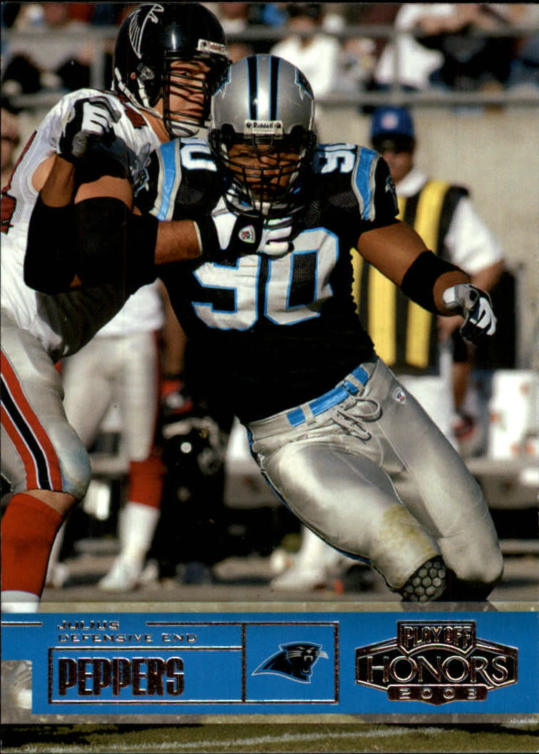 2003 Playoff Honors #52 Julius Peppers
