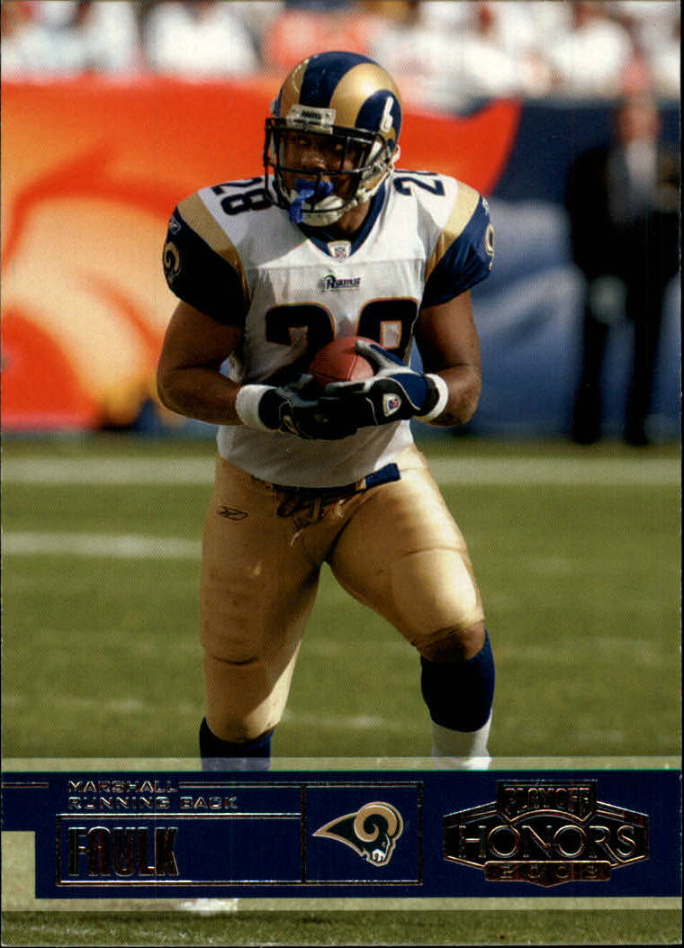 2003 Playoff Honors #62 Marshall Faulk