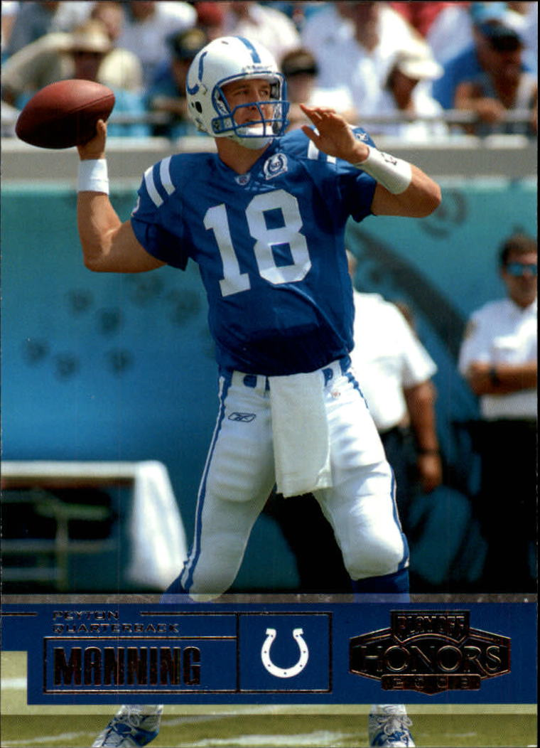 2003 Playoff Honors #71 Peyton Manning
