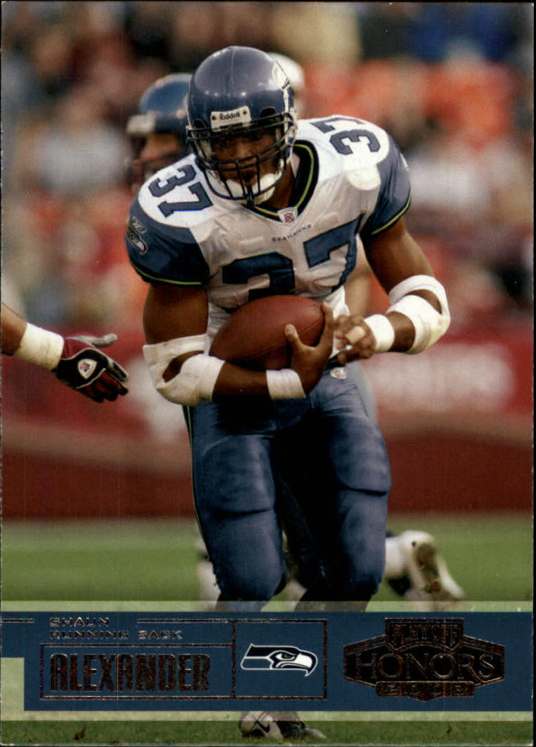 2003 Playoff Honors #81 Shaun Alexander