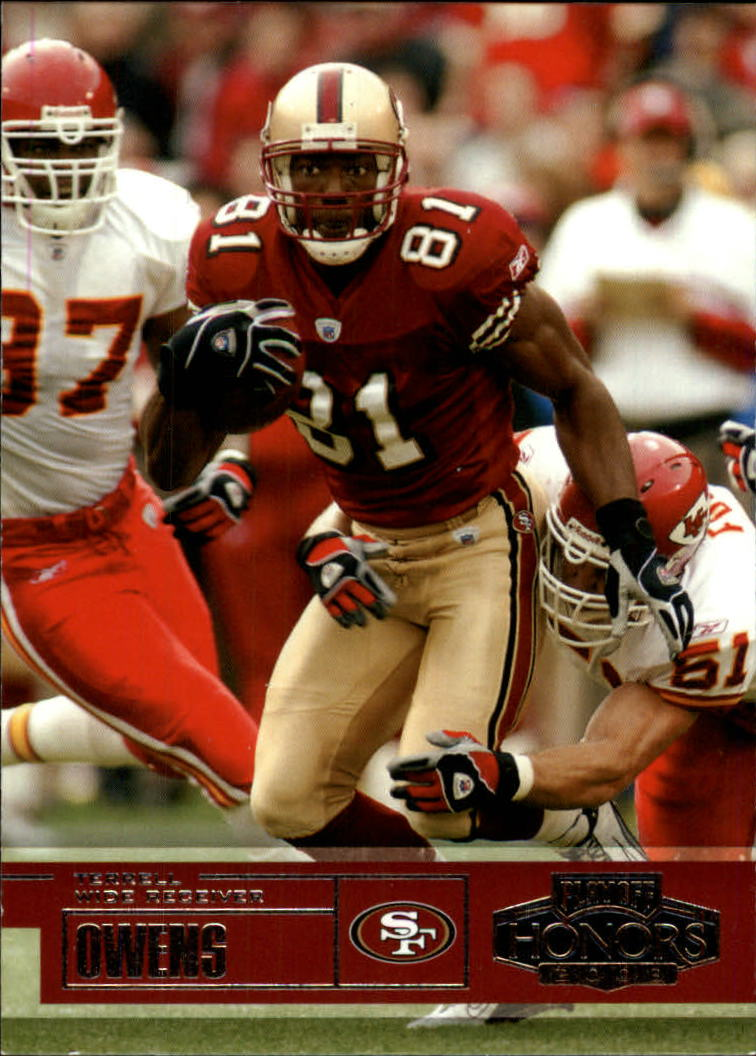 2003 Playoff Honors #85 Terrell Owens