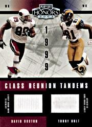 2003 Playoff Honors Class Reunion Tandems #CRT17 Torry Holt/David Boston