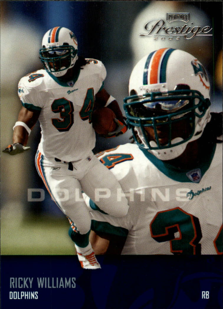 2003 Playoff Prestige #78 Ricky Williams