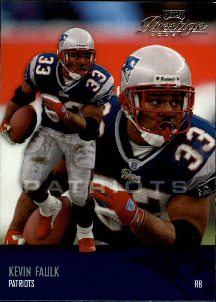 2003 Playoff Prestige #86 Kevin Faulk