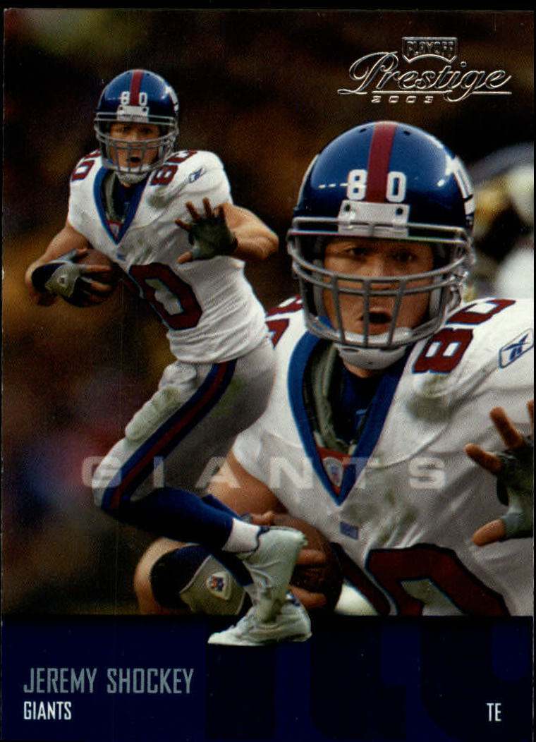 2003 Playoff Prestige #94 Jeremy Shockey