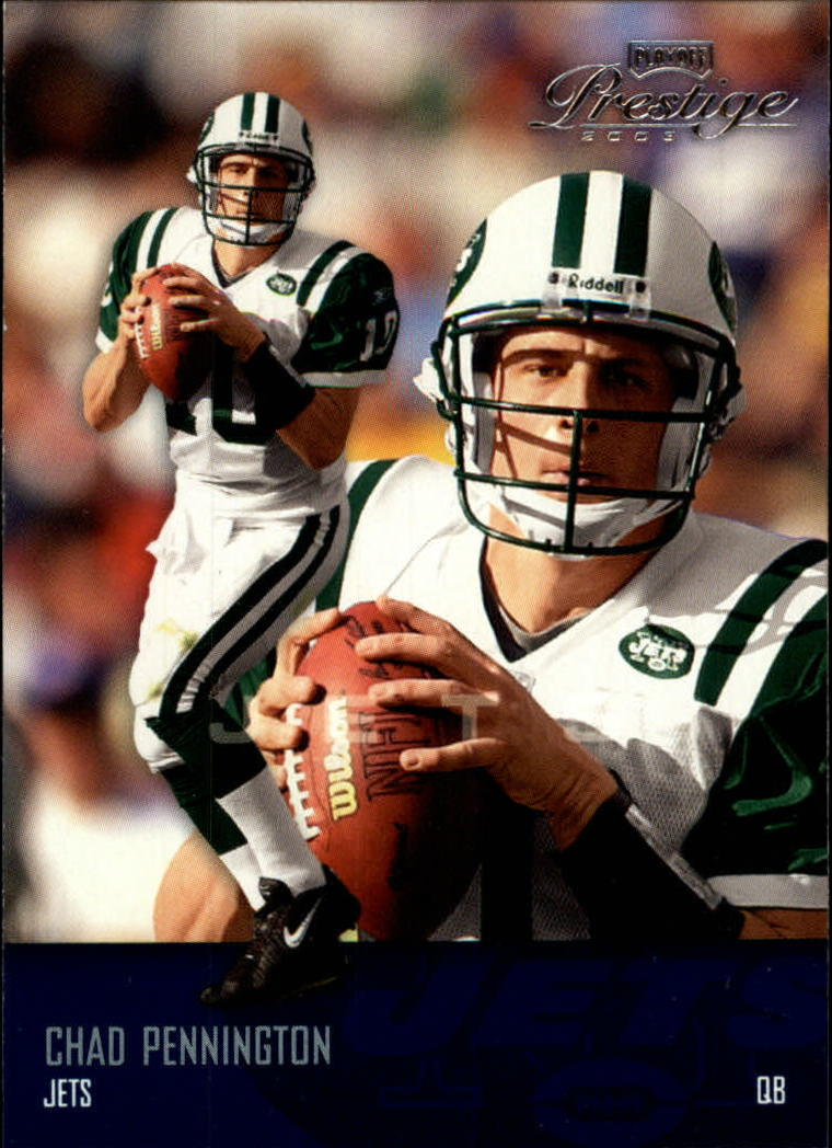 2003 Playoff Prestige #101 Chad Pennington