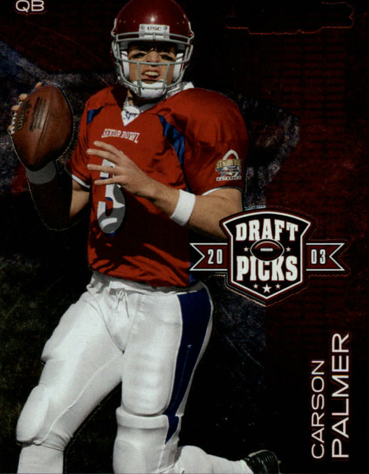 2003 Playoff Prestige Draft Picks #DP2 Carson Palmer