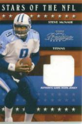 2003 Playoff Prestige Stars of the NFL Jerseys #SN19 Steve McNair
