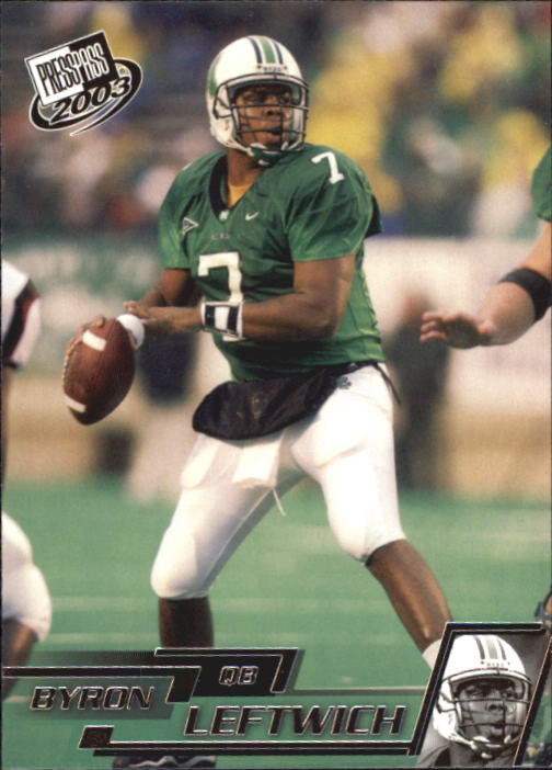 2003 Press Pass #7 Byron Leftwich