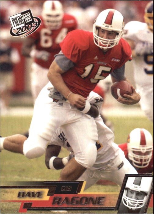 2003 Press Pass #9 Dave Ragone