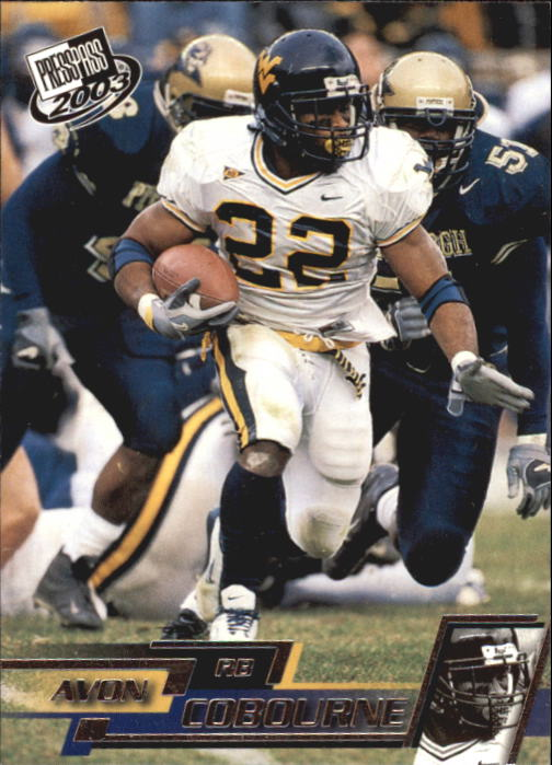 2003 Press Pass #13 Avon Cobourne