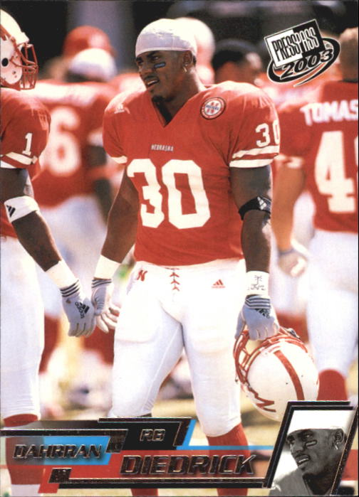 2003 Press Pass #14 Dahrran Diedrick