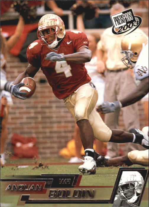2003 Press Pass #22 Anquan Boldin