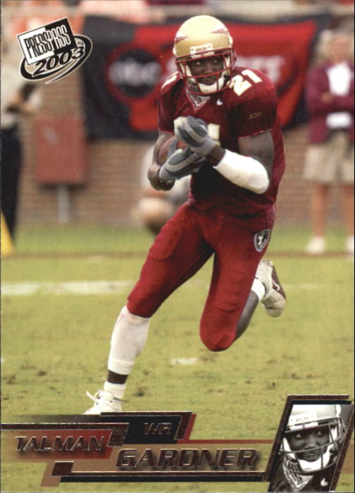 2003 Press Pass #23 Talman Gardner