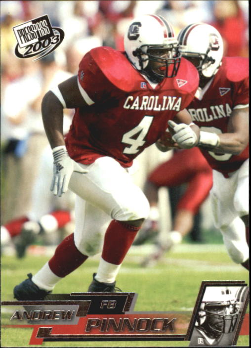 2003 Press Pass #33 Andrew Pinnock