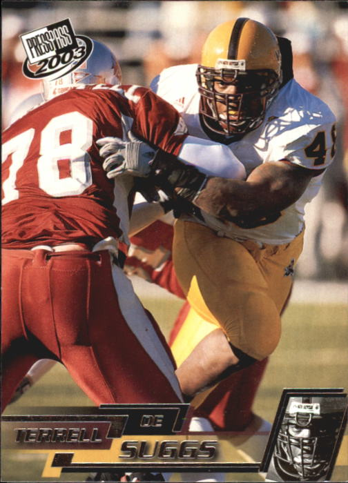 2003 Press Pass #41 Terrell Suggs